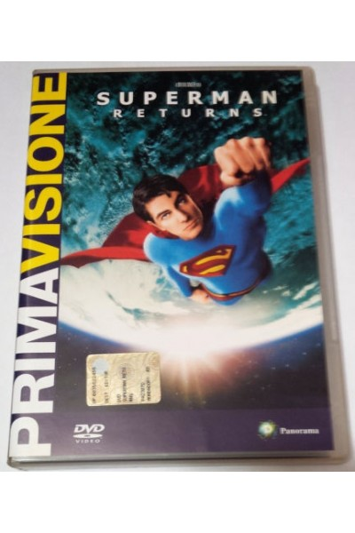 SUPERMAN RETURNS DVD VERSIONE EDITORIALE NUOVO SIGILLATO