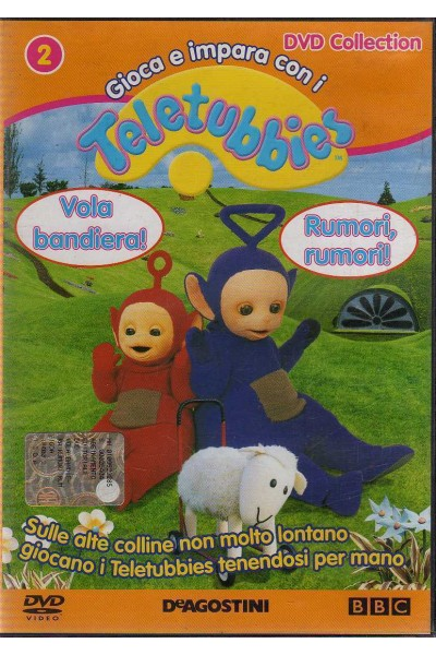 TELETUBBIES DVD VERSIONE EDITORIALE