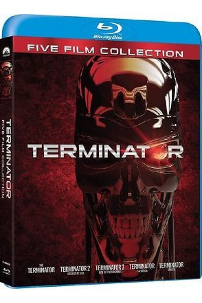 TERMINATOR FIVE FILM COLLECTION BLU RAY