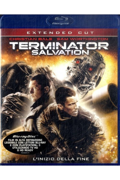 TERMINATOR SALVATION EXTENDED CUT CHRISTIAN BALE BLU RAY