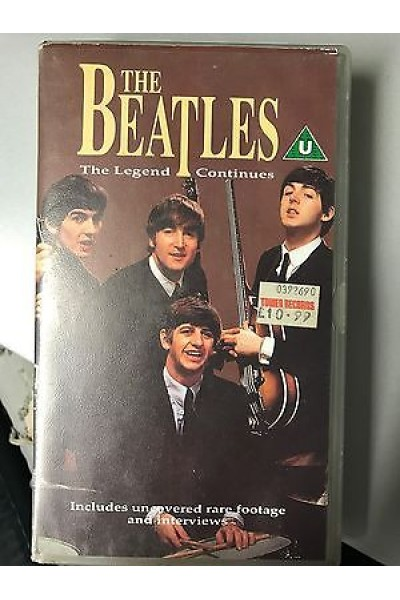 THE BEATLES THE LEGEND CONTINUES VHS