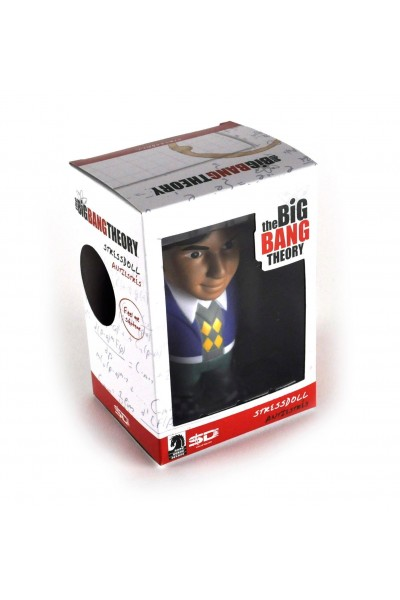 THE BIG BANG THEORY STRESSDOLL RAJ RAJESH NUOVA SIGILLATA