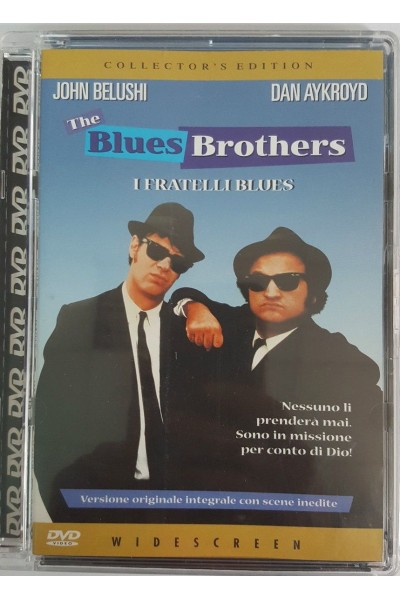 THE BLUES BROTHERS I FRATELLI BLUES COLLECTOR'S EDITION DVD SUPER JEWEL BOX