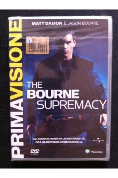 THE BOURNE SUPREMACY MATT DAMON DVD VERSIONE EDITORIALE NUOVO SIGILLATO