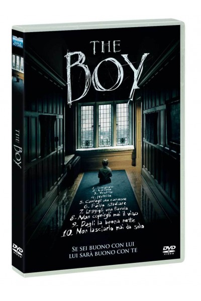 THE BOY- DVD NUOVO SIGILLATO VERS.EDITORIALE