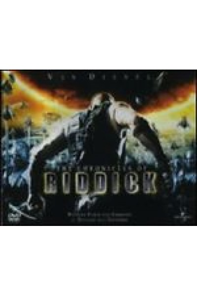THE CHRONICLES OF RIDDICK - VIN DIESEL - DVD NUOVO METAL BOX