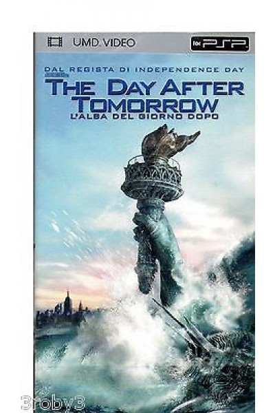 THE DAY AFTER TOMORROW UMD VIDEO PSP SONY USATO IN PERFETTE CONDIZIONI