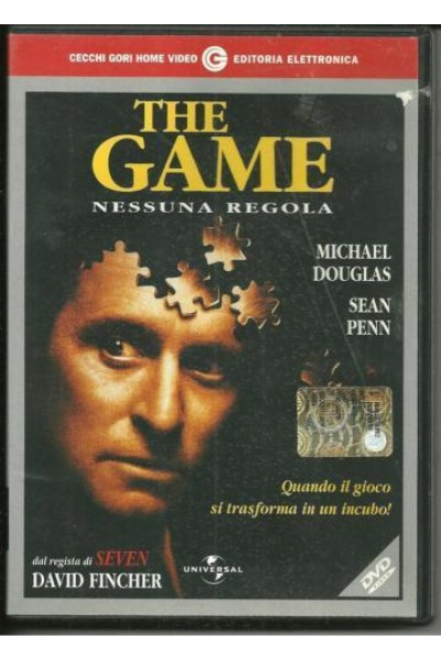 THE GAME MICHAEL DOUGLAS DVD