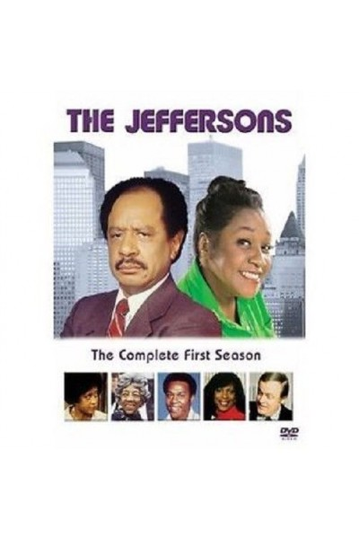 THE JEFFERSONS FIRST SEASON EDIZIONE AMERICANA COFANETTO DVD NUOVO