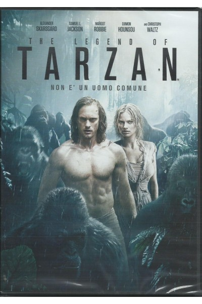 THE LEGEND OF TARZAN MARGOT ROBBIE DVD NUOVO SIGILLATO