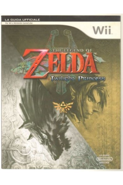 THE LEGEND OF ZELDA TWILIGHT PRINCESS GUIDA STRATEGICA UFFICIALE
