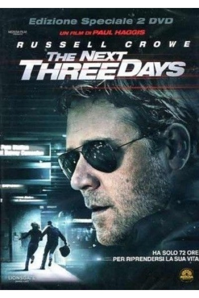 THE NEXT THREE DAYS DVD NUOVO SIGILLATO