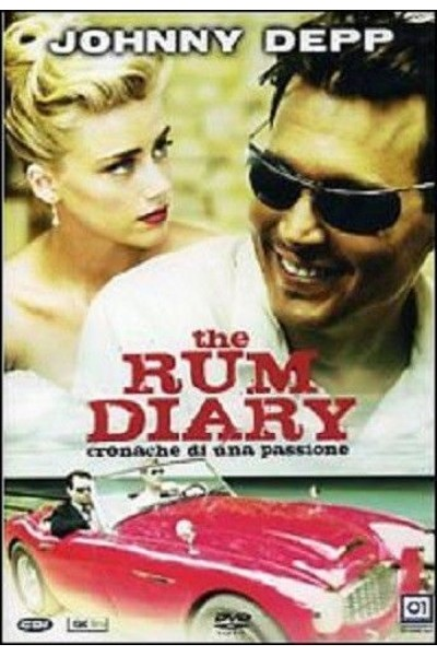 THE RUM DIARY JOHNNY DEPP DVD VERSIONE EDITORIALE