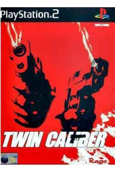 TWIN CALIBER  PS2 PAL UK COMPLETO CON MANUALE