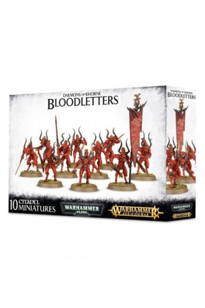 WARHAMMER 40,000 BLOODLETTERS OF KHORNE GAMES WORKSHOP NUOVO