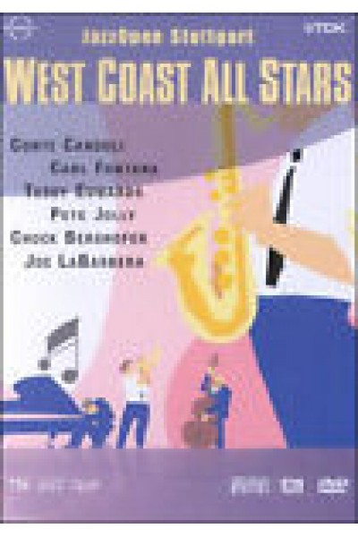 WEST COAST ALL STARS JAZZ  DVD NUOVO SIGILLATO