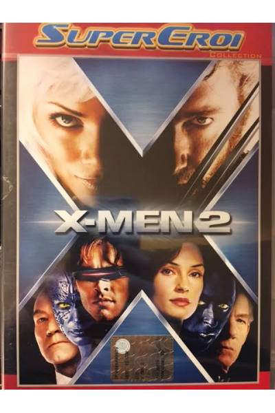 X-MEN 2 SUPER EROI COLLECTION- DVD NUOVO SIGILLATO
