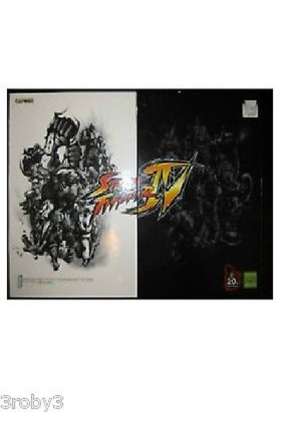 XBOX 360 ARCADE FIGHTSTICK STICK STREET FIGHTER IV 4 TOURNAMENT COLLECTOR LIMITE