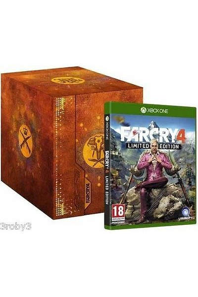 XBOX ONE FAR CRY 4 KRAT COLLECTOR LIMITED EDITION PAL ITALIANO COMPLETO XBOXONE